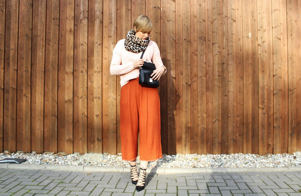 OOTD: Culotte Styling im Winter - Letters u0026 Beads